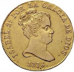 Moneta > 80reali, 1834-1836 - Hiszpania  - obverse