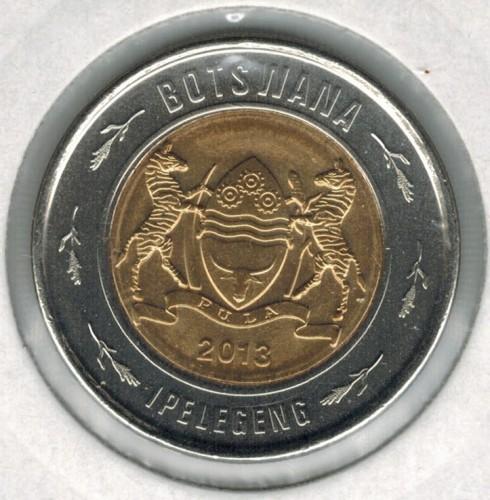 2 pula 2013-2016, Botswana - Coin value - uCoin net