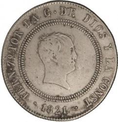 Moneta > 10reali, 1821 - Hiszpania  - obverse