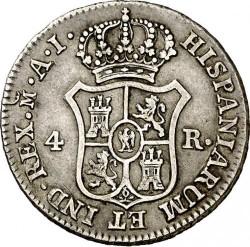 Moneta > 4reale, 1808-1813 - Hiszpania  - reverse