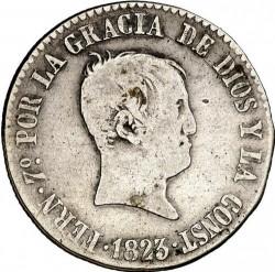 Moneta > 4reale, 1822-1823 - Hiszpania  - obverse
