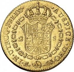 Münze > 2Escudo, 1808-1809 - Spanien  - reverse