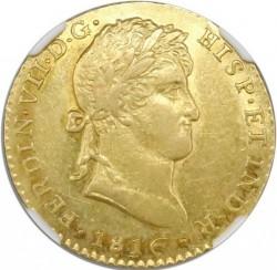 Münze > 2Escudo, 1814-1833 - Spanien  - obverse