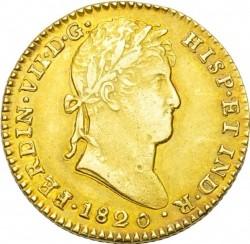 Moneta > 2escudo, 1814-1833 - Hiszpania  - obverse