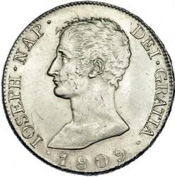 Монета > 8реалов, 1809-1810 - Испания  - obverse