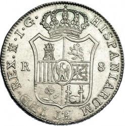 Монета > 8реалов, 1809-1810 - Испания  - reverse