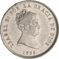 Münze > 4Reales, 1834-1836 - Spanien  - obverse