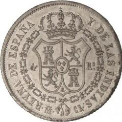 Moneta > 4reale, 1834-1836 - Hiszpania  - reverse