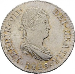 Moneta > 2reale, 1810-1833 - Hiszpania  - obverse