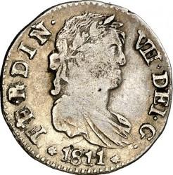 Moneta > 1real, 1811-1833 - Hiszpania  - obverse