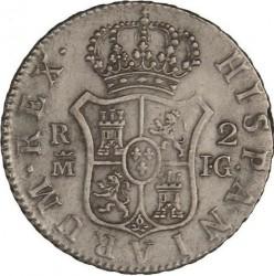 Moneta > 2reale, 1810-1814 - Hiszpania  - reverse