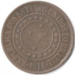 Moneda > 40réis, 1889-1912 - Brasil  - obverse