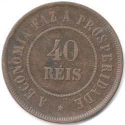 Moneda > 40réis, 1889-1912 - Brasil  - reverse