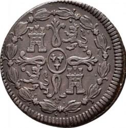 Монета > 8мараведи, 1817-1821 - Испания  (Small portrait) - reverse