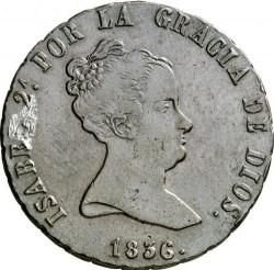 Moneta > 8maravedis, 1835-1836 - Hiszpania  - obverse