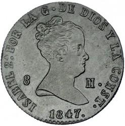 Moneda > 8maravedíes, 1847 - España  - obverse