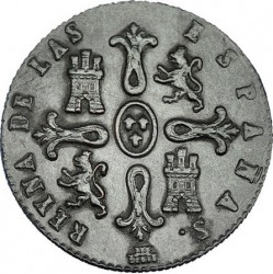 Moneda > 8maravedíes, 1847 - España  - reverse