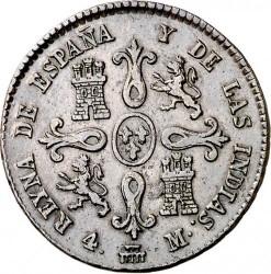 Moneta > 4maravedis, 1835-1836 - Hiszpania  - reverse