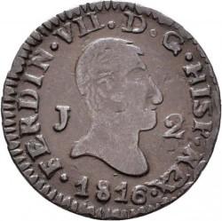 Münze > 2Maravedís, 1813-1817 - Spanien  - obverse