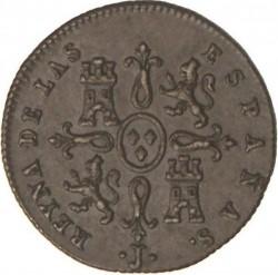 Moneta > 1maravedí, 1842-1843 - Hiszpania  - reverse