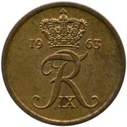 Münze > 1Öre, 1960-1964 - Dänemark   - obverse