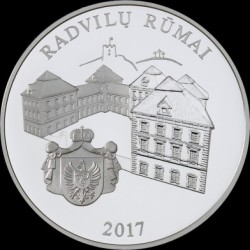 Coin > 20 euro, 2017 - Lithuania  (Radziwiłł Palace, Vilnius) - reverse
