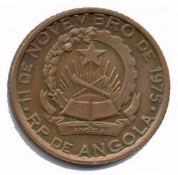 Monedă > 100kwanza, 1991 - Angola  - obverse
