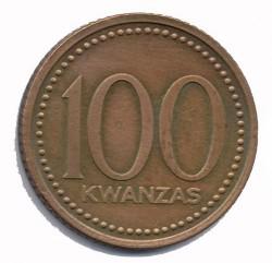 Monedă > 100kwanza, 1991 - Angola  - reverse