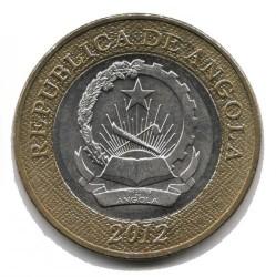 Moneda > 5kwanzas, 2012 - Angola  - reverse
