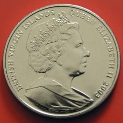Moneda > 1dólar, 2003 - Islas Vírgenes Británicas  (100th Anniversary - Powered Flight) - obverse