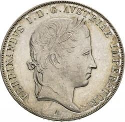 Монета > 1талер, 1835-1836 - Австрия  - obverse