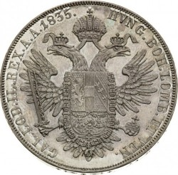 Монета > 1талер, 1835-1836 - Австрия  - reverse