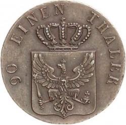 Монета > 4пфенига, 1841-1842 - Прусия  - obverse
