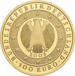 Moeda > 100euro, 2002 - Alemanha  (Início da Circulação do Euro) - reverse