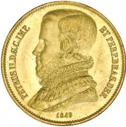 Mynt > 20000reis, 1849-1851 - Brasilien  - obverse