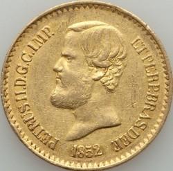 Mynt > 20000reis, 1851-1852 - Brasilien  - obverse