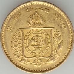 Mynt > 20000reis, 1851-1852 - Brasilien  - reverse
