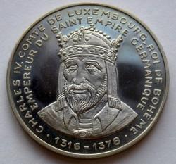 Moneta > 5ECUs, 1992 - Lussemburgo  (Carlo IV) - reverse