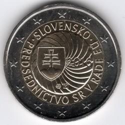 Moeda > 2euro, 2016 - Eslováquia  (Presidência Eslovaca do Conselho Europeu) - obverse
