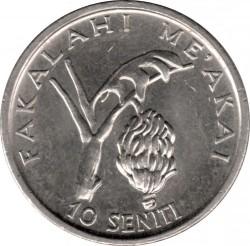 Монета > 10сенити, 1981-1996 - Тонга  - reverse