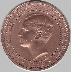 Кованица > 5реиса, 1910 - Португал  - obverse