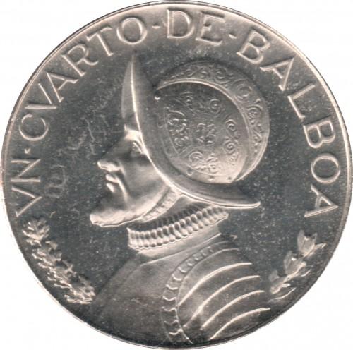 ¼ balboa 1966-1993, Panama - Coin value - uCoin net