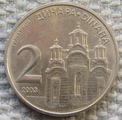 Moneda > 2dinares, 2003 - Serbia  - obverse