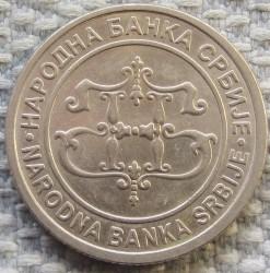 Moneda > 2dinares, 2003 - Serbia  - reverse