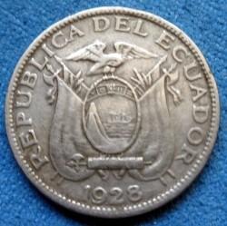 Pièce > 2½centavos, 1928 - Équateur  - obverse