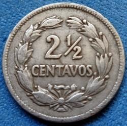 Coin > 2½centavos, 1928 - Ecuador  - reverse