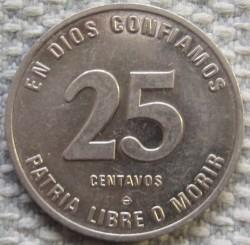 Moneta > 25centavos, 1981-1985 - Nicaragua  - reverse