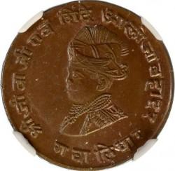 Монета > ¼анни, 1929 - Гваліор  (вага 5г, діаметр 22мм) - obverse