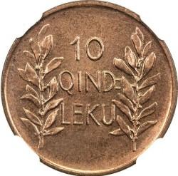 Кованица > 10киндарлека, 1926 - Албанија  - reverse