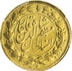 Монета > 2тумана, 1905 - Иран  (W/o lettering around portrain) - reverse